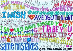 Image Gallery one direction song names