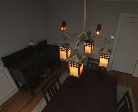 Craftsman Style Dining Room Chandeliers by 12 Best Craftsman Style Chandeliers Images On