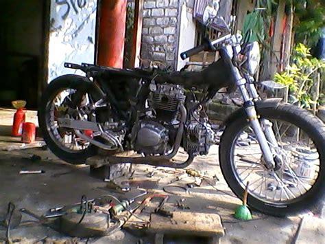 Motor Modipan by Cemet Garage Modif Honda Gl 100 Dua Silinder Ltwin Part Ii