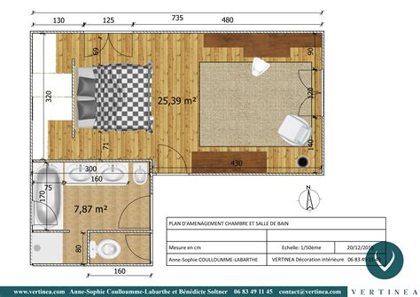 plan chambre parentale plan chambre avec dressing 1 am233nagement et
