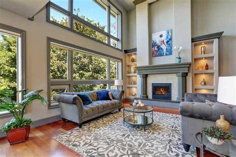 types  living room flooring  ideas