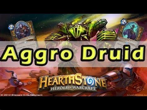 hearthstone aggro deck search results hearthstone thijsnl aggro druid deck decklist