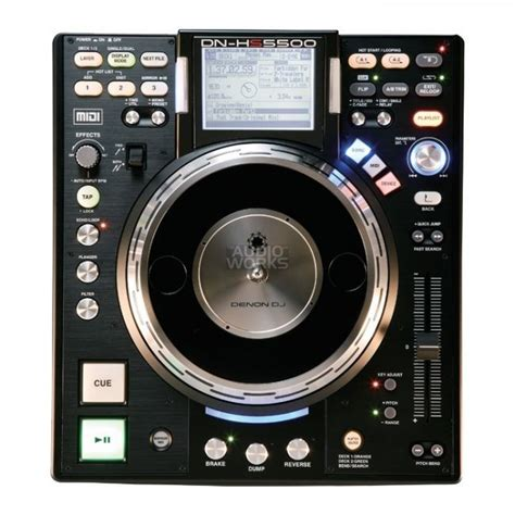 Denon Dnhs5500cd Cd Mp3 Media Dj Deck @ Audio Works