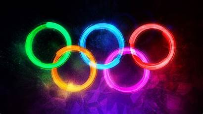 Olympic Bright Circle Colourfull Olympics Wallpapers Desktop