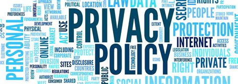 Privacy Policy Templates In Pdf Format