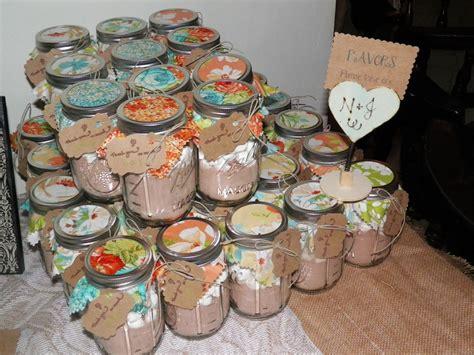 Bridal Shower Hot Cocoa Mason Jar Favors We Must Do This