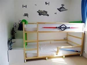 Ikea Chambre D Enfant : transformer le lit ikea kura 15 id es ikea hacks blog d co clematc ~ Teatrodelosmanantiales.com Idées de Décoration