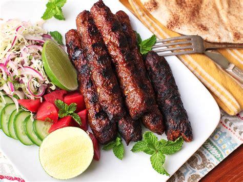 Kebab Recipe by Beef Kebabs Recipe Dishmaps