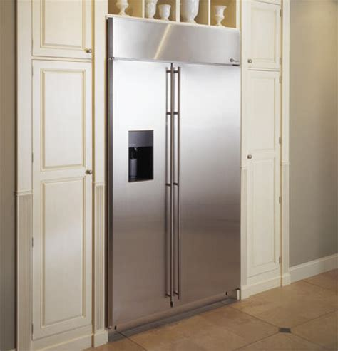 ge monogram  built  side  side refrigerator zissdrss ge appliances