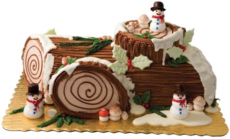 buche de noel decorations yule log could there be a more adorable dessert nugget markets daily dish