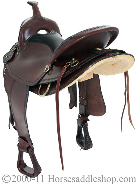 saddle saddlery american texas trail country hill mule ii horn bars hr 940m