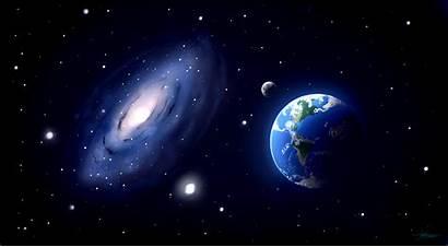 Space Through Animated Going Odyssey Luna Gifer