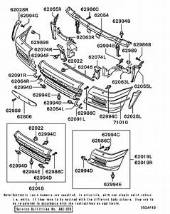Front Bumper  U0026 Support For 2003