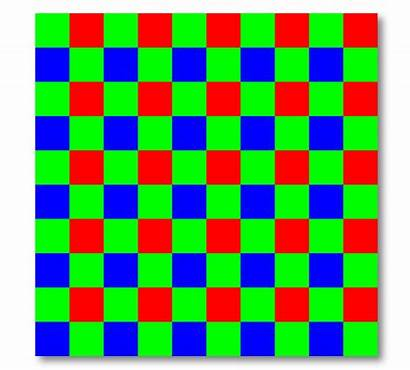 Array Bayer Pattern Filter Colour Apertus Pixels
