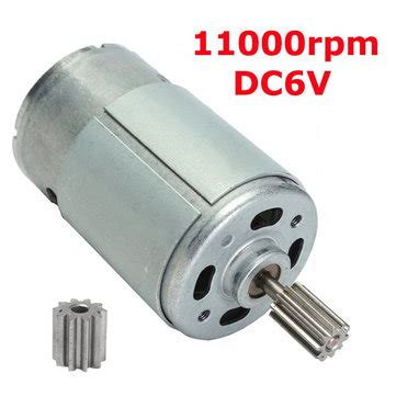 Micro Electric Motor by Dc6v 11000rpm Gear Motor Micro Electric Motor Sale