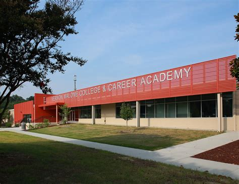 vernon malone college  career academy architect