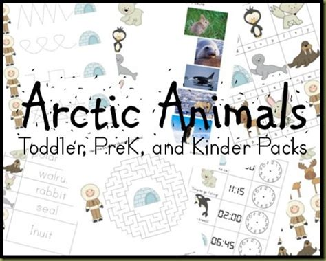 polar and arctic animals free printables amp resources 502 | preview3