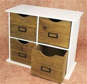 Kommode Mit Regal : minikommode kommode mit 4 schubladen 12018 regal 46cm schrank shabby truhe kaufen bei dandibo ~ Orissabook.com Haus und Dekorationen