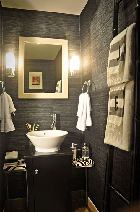 powder bathroom ideas powder room design ideas 2017 grasscloth wallpaper
