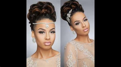 beautiful wedding hairstyles  black women  feel