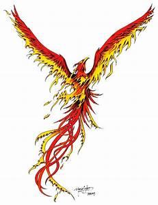 Phoenix Tattoos For Men - Tattoos Art