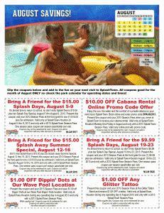 GET Splish Splash Discountscoupons For 2017 Looking Coupons September Is Ending Dont Miss Visit Theme Park