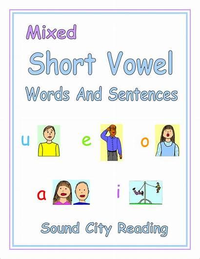 Vowel Short Words Sentences Mixed Vowels Soon