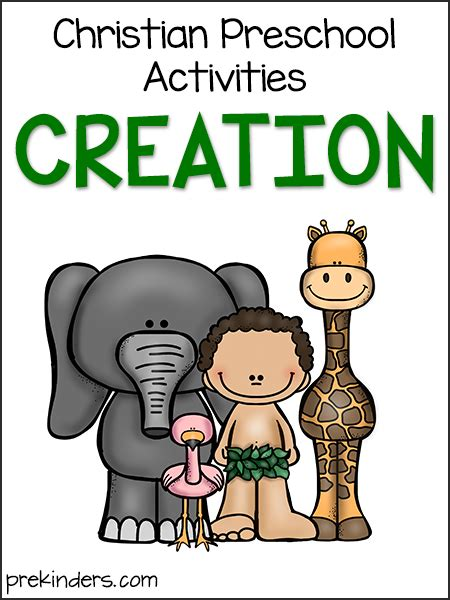 story of creation christian preschool activities prekinders 826 | creation christian preschool
