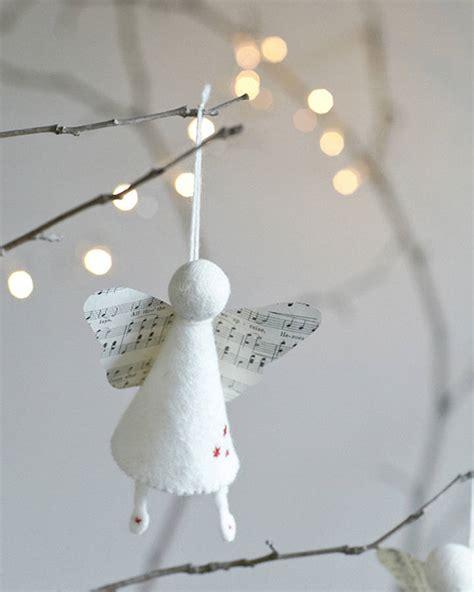 handmade felt angel decoration  rastall  daughters