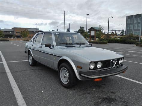 Alfa Romeo Sedan by Seattle S Parked Cars 1979 Alfa Romeo Alfetta Sport Sedan