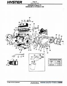 Toyota Forklift Transmission Parts Diagrams Manual