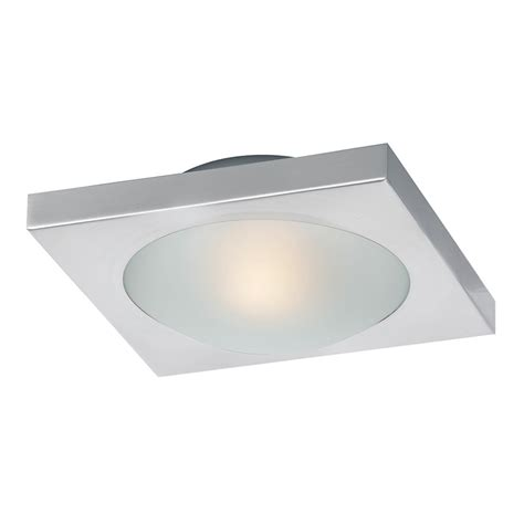 e53830 09sn led piccolo 1 light led flush wall mount