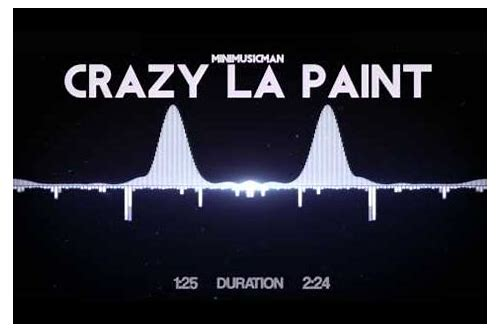 download crazy la paint mp3