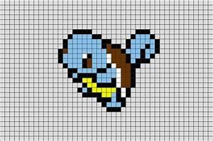 Pokemon Squirtle Pixel Art – BRIK
