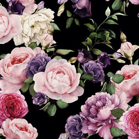 vintage floral wallpaper project nursery