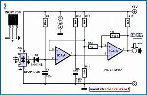 Wiring Diagram For Car  Modulated Light Barrier