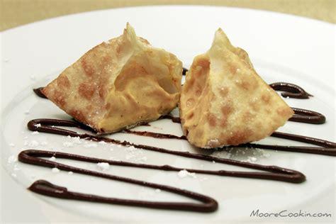 simple cheese desserts pumpkin cheese dessert wontons fall recipes cookin