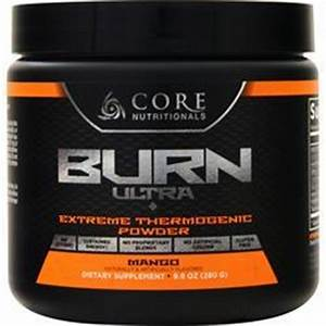 Core Nutritionals Burn Ultra - Extreme Thermogenic Powder ...