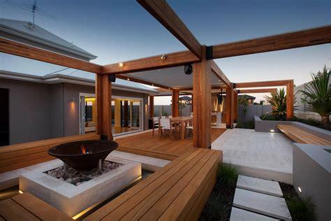 stylish backyard  teak decking idesignarch interior design architecture interior