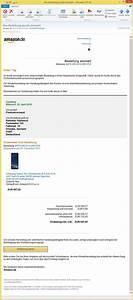 Amazon Bestellung Auf Rechnung : ihre bestellung wurde storniert von amaz icssmail ~ Themetempest.com Abrechnung