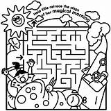 Coloring Pages Maze Morning Ellie Magical Crayola Printable Ice Cream Advertisement Coloringpagebook sketch template