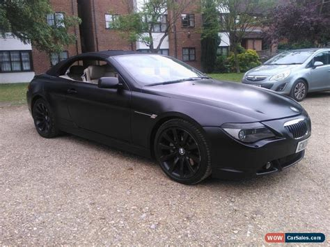 2006 bmw sports car 2006 bmw 650i sport auto for in united kingdom