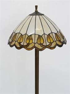 Lampenschirm Stehlampe Glas : lampe standleuchte stehlampe messing mit lampenschirm aus glas 3505 lampen stehlampen ~ Indierocktalk.com Haus und Dekorationen