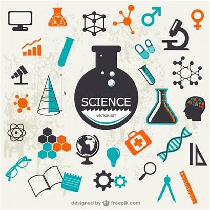 Science Vectors Freepik Vector Symbols Scientific Background