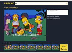 Simpsons Meme Generator and Search Engine Woo Hoo