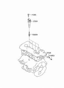 Hyundai Elantra Plug Assembly - Spark  Plugs