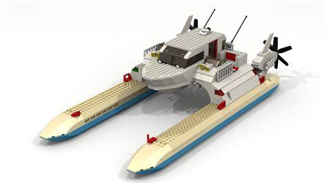 Lego Boat Racer by Lego Racing Boat Ldd Render By Seluryar On Deviantart