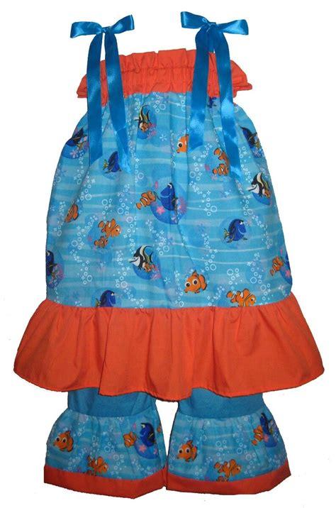 Pillowcase Dress & Pants Set Disney Finding Nemo Dory ...