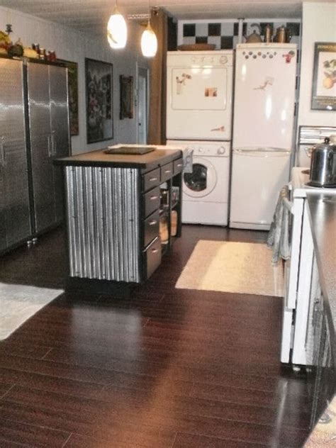 reface kitchen cabinets before and 6 great mobile home kitchen makeovers mobile home living