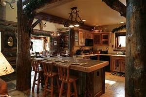 country rustic kitchen designs peenmediacom With rustic kitchen designs photo gallery